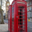 A pair of typical red phone in London — Stock Photo #2366945