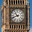 Close up shot of the Big Ben in London — Stock Photo