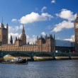The Houses of Parliament (Big Ben) — Stock Photo