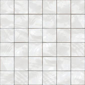 Shiny seamless white tiles texture — 图库照片