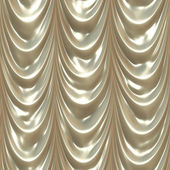 Seamless white drape texture — Stock Photo