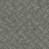 Seamless rusty metallic panel texture — Stock Photo