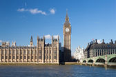 The Big Ben , the Houses of Parliament — Стоковое фото