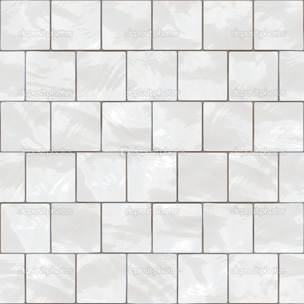 Download Shiny Seamless White Tiles Texture Stock Image 2364760