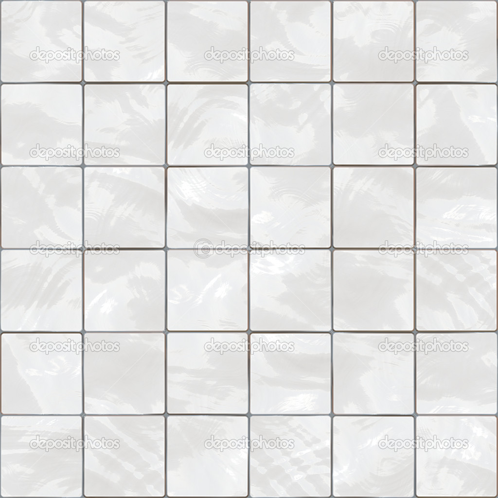 Shiny seamless white tiles texture — Stock Photo #2364765
