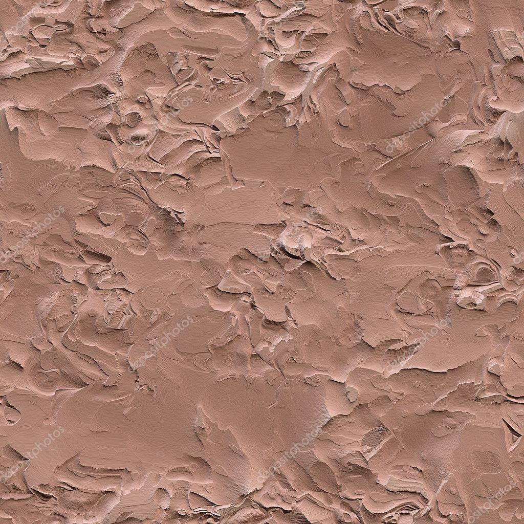 Rough Plastered Wall Seamless Texture Stock Photo