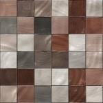 Seamless shiny tiles texture — Stock Photo