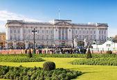Buckinghamský palác v londýně — Stock fotografie