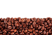 Coffee beans with copy space — Stock Photo