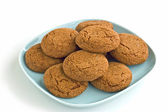 Ginger snaps — Stock Photo