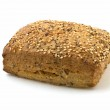 Flax loaf with sesame and poppy seeds — Stock Photo #2487291