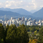Vancouver cityscene — Foto de Stock