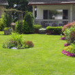 Manicured Yard — Stock Photo #2347040