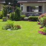 giardino curatissimo — Foto Stock