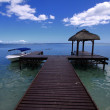 Stock Photo: Mauritius blue seand sky