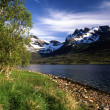 Norway mountain - Stock Photo