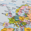 Stock Photo: Europe map