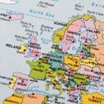mapa de Europa — Foto de Stock