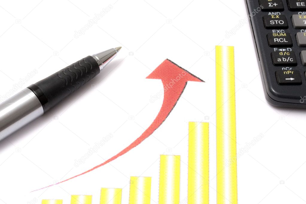 Business graph — Stock Photo #2557870