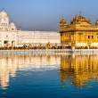 Golden Temple in Amritsar, Punjab, Indi — Стоковая фотография