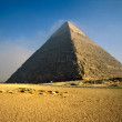 Chefren Pyramid, Giza, Egypt. — Stock Photo #2333144