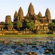 Angkor Wat at sunset, cambodia. — Foto de Stock
