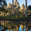 Bayon Temple, Cambodia - Stock Photo