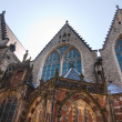 Church in Red Light district, Amsterdam — Zdjęcie stockowe #2334453