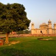 Stock Photo: Itimad-ud-daulah at sunset, Agra, Uttar Pradesh,