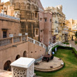 Stock Photo: Inside Castle in Mandawa, India.