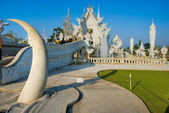 White Temple, Chiang Rai, Thailandia. — Stock Photo