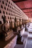 Collectie van boeddha's, luang prabang, laos. — Stockfoto