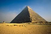 The Chefren Pyramid, Giza, Egypt. — Foto de Stock