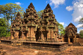 Banteay srei, Angkor, Cambodia. — Stock Photo