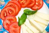 Tomate y queso — Foto de Stock