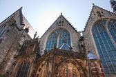 Church in the Red Light district, Amsterdam — Foto Stock