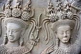 Apsara, Angkor Wat. Cambodia. — Stock Photo
