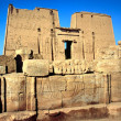 The temple of Horus, Edfu, Egypt. - Stock Photo