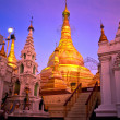Shwedagon Paya, Yangoon, Myanmar. - Stockfoto