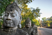 Main entrance of Angkor Thom, Cambodia — Stock Photo