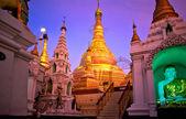 Shwedagon Paya, Yangoon, Myanmar. — Stockfoto