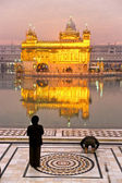Golden Temple in Amritsar, Punjab, India. — Foto Stock
