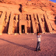 Abu Simbel, Egypt. — Stock Photo