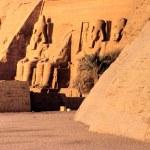 Abu Simbel, Egypt. — Stock Photo