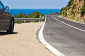 Driving in Isle of Elba, Italy. — Stock Photo