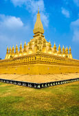 Wat That Luang, Laos. — Stock Photo