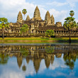 Angkor Wat before sunset, Cambodia. — Stock Photo
