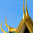 Details of Royal palce roof, Pnom Penh, Cambodia - Stock Photo