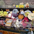 Floating Market, Damnon Saduak, Thailand. — Stock Photo