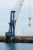 Crane, Italy. — Stock Photo